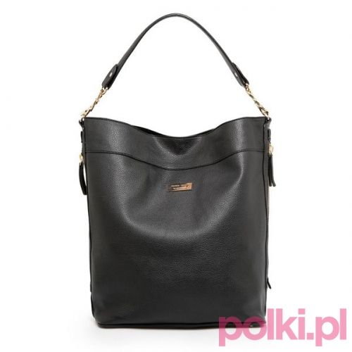 Czarna torebka, Mango #polkipl