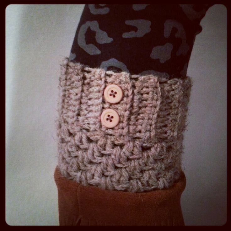 Free Crochet Patterns For Boot Cuffs With Buttons : 17 Best images about Boot cuffs on Pinterest Free ...