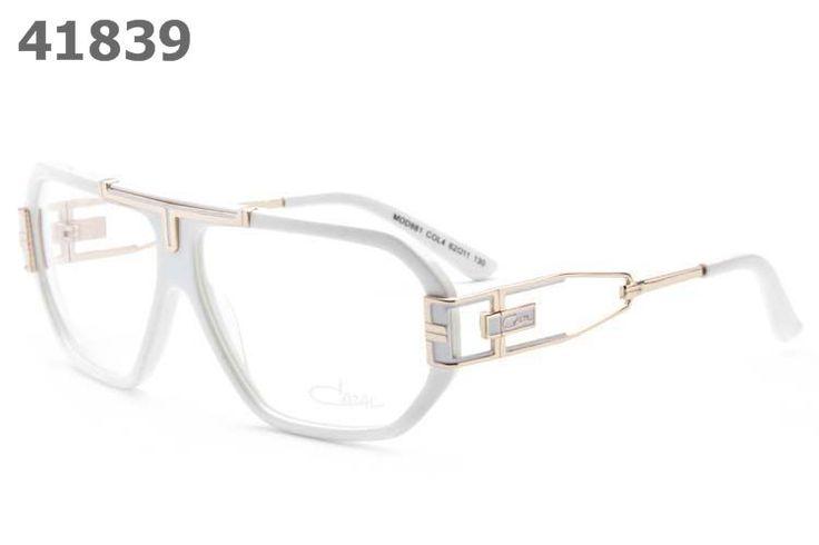 Cazal Unisex Retro Sunglasses 881 white frame
