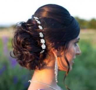 indian style hair buns indian wedding hairstyles for indian brides up dos 7993