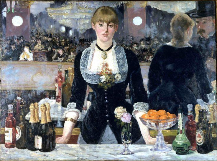 """""""Il bar delle Folies-Bergère"""" 1882  Dimension: 96 x 130 cm  Courtauld Gallery, Londra"""