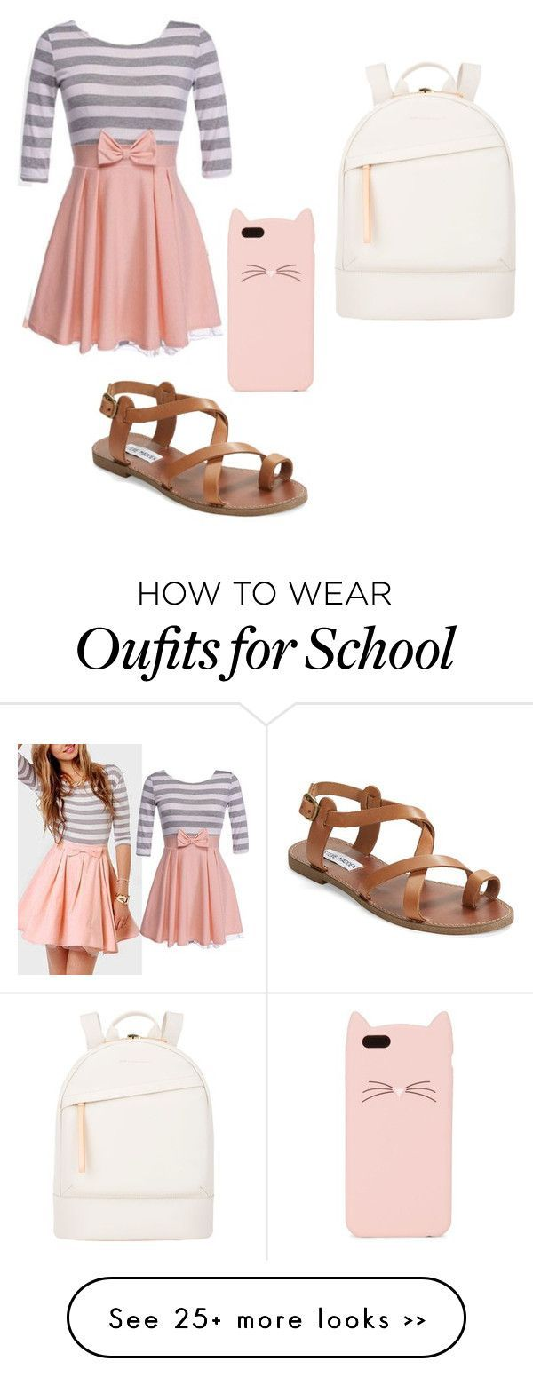 """Back To School Look 4"" by zeniboo on Polyvore"