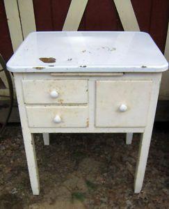 12 best Bringing back the enamel top tables!! images on Pinterest ...