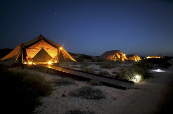 Where the outback meets the reef... with just nine luxury wilderness tents hidden amongst the dunes overlooking Ningaloo Reef, Sal Salis provides a unique place from which to explore Western Australia's coral coast and one of Australia's best kept natural secrets.