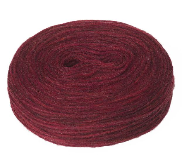 Plötulopi 1427 - jasper red heather - available at alafoss.is #yarn #knitting #wool #icelandic