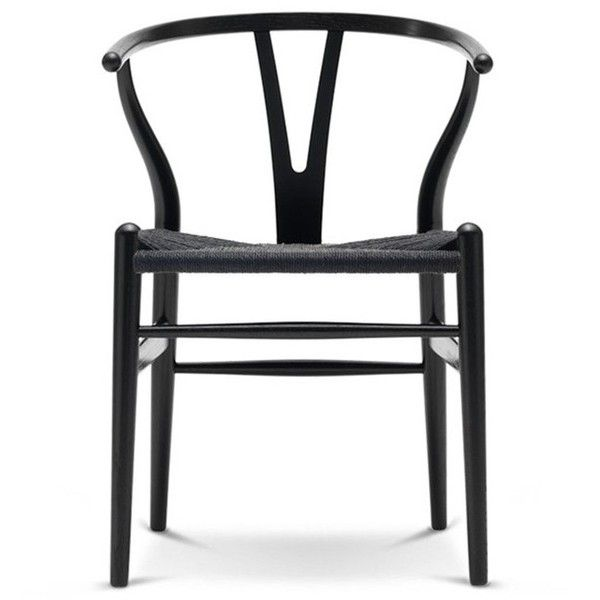 Carl Hansen CH24 Wishbone Chair - Wood | Scandinavian Design ❤ liked on Polyvore featuring home, furniture, chairs, accent chairs, wood furniture, wishbone chair, scandinavian furniture, wooden furniture and timber furniture