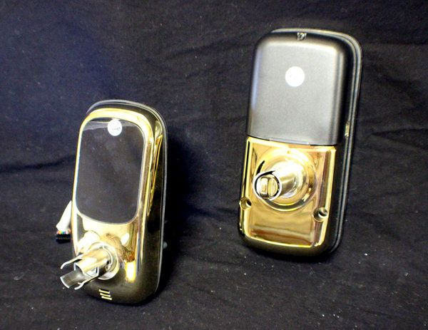 Yale ZigBee Touchscreen Lock (Gold Color)