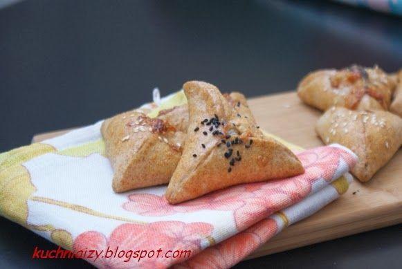 Kuchnia Izy: Pełnoziarniste fatayer czyli zdrowo i kolorowo