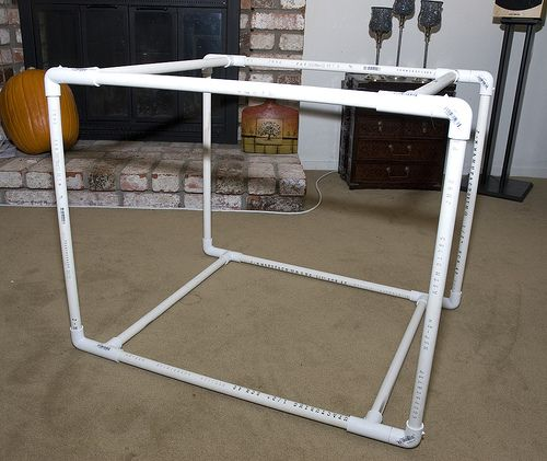 1000 ideas about bed tent on pinterest bunk bed tent for Build your own canopy frame