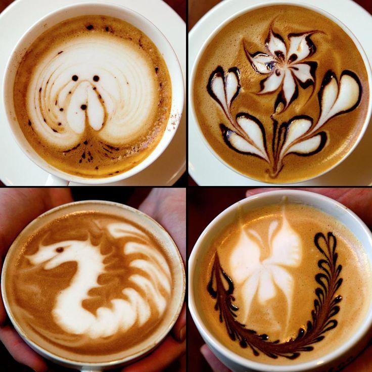 .: Addiction Memorial, Cappucino Art, Latte Art, Cappuccinos Art, Latte Foam, Coffee Art, Foam Art, Memorial Art, Foam Memorial
