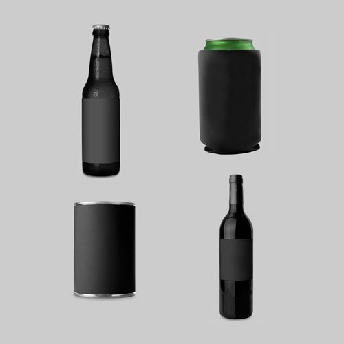 Bottle and Can Mockup Templates from MockupEverything.com