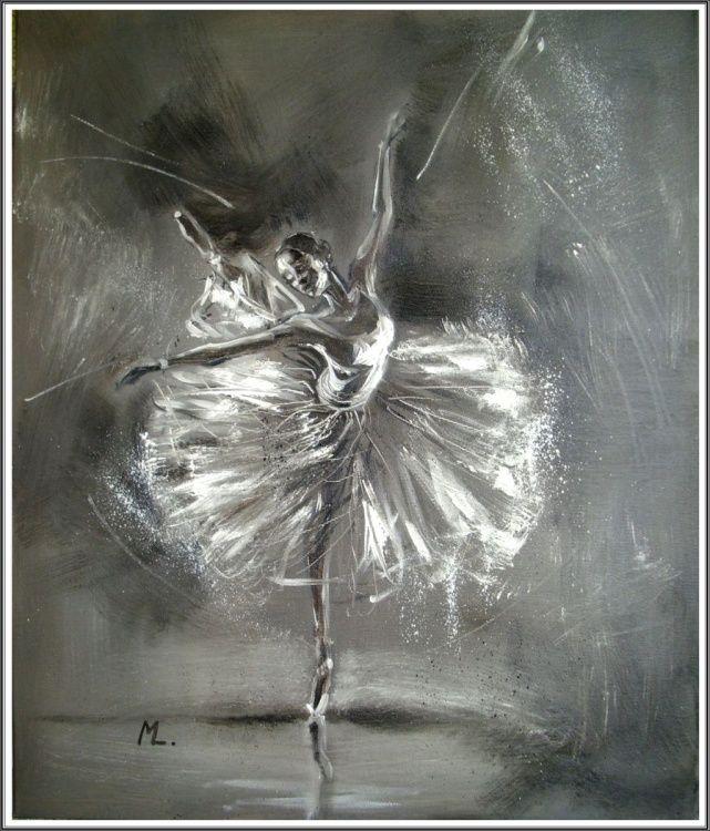 """ THE FLOWER OF THE BALLET "" (2014) Oil painting by Monika Luniak | Artfinder"