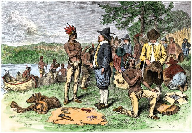 native americans conflict with european settlers The native americans' role in the american revolution: choosing sides at the outbreak of the revolutionary crisis in the 1760s, native americans faced a familiar task of navigating among competing european imperial powers on the continent of north america.