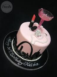 Image result for pink 30th birthday cakes
