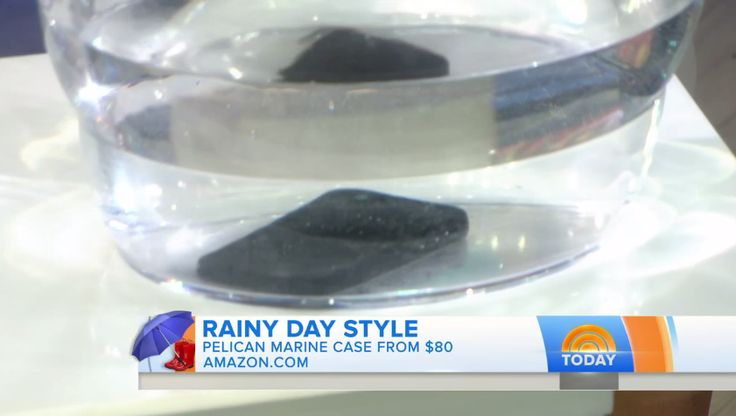 In Case You Missed It: The Pelican Marine Case made its TV debut on the Today Show!