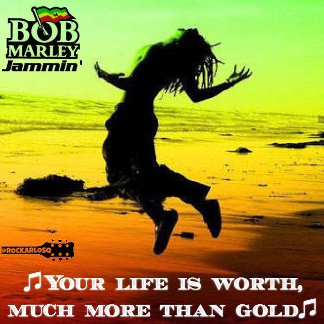 ♫Your life is worth, much more than gold♫ #BobMarley #Jammin' #reggae  #lyrics #lyricstoliveby #lyricsoftheday #relatablelyrics #love #qotd #favoritesong #bestsong #listentothis #goodmusic #instamusic #relatedlyrics #quotes #instatext #textgram #lyricsoftheday #quotesdaily #versagram #quotesgram #tweetgram #songquote #inspiration #tagstagramers #tagsta #lyricsquote #jamming
