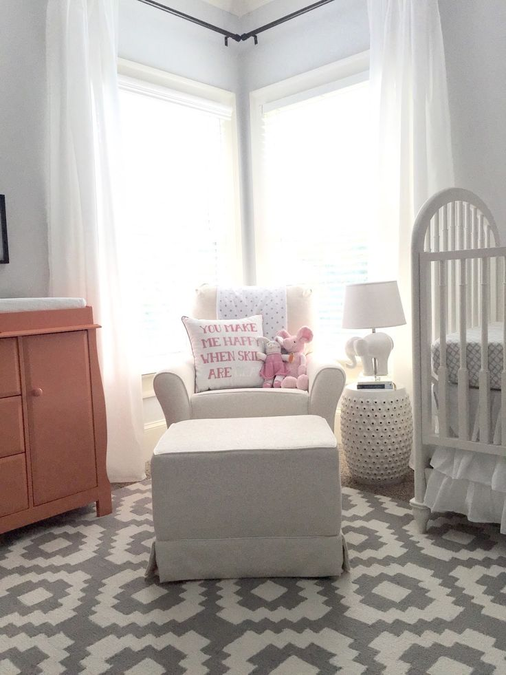 Everyday Loveliness Nursery Reveal Gray And White With