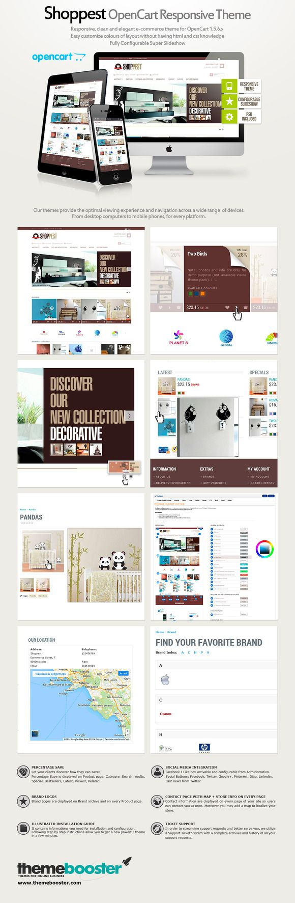 Shoppest Opencart Responsive Theme by ThemeBooster.com on Creative Market