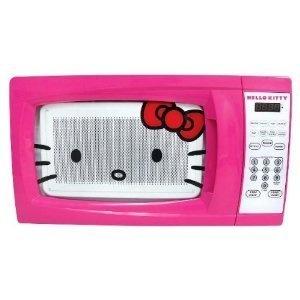 Hello Kitty Pink Microwave