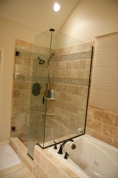22 best images about shower tile examples on pinterest for Examples of bathroom designs
