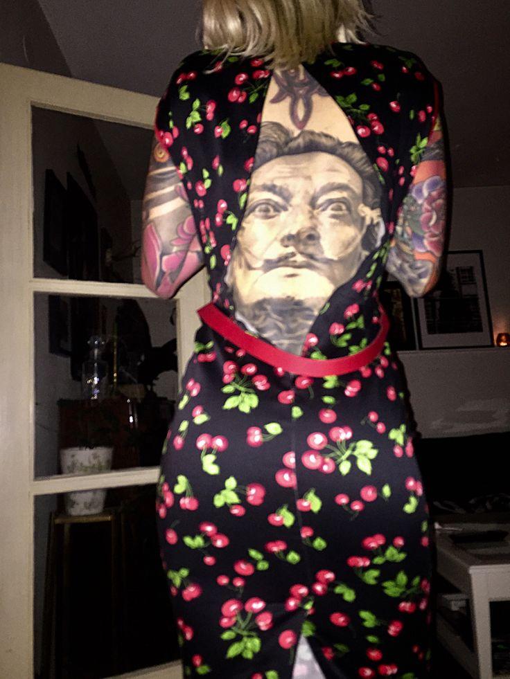 Salvadore Dali tattoo