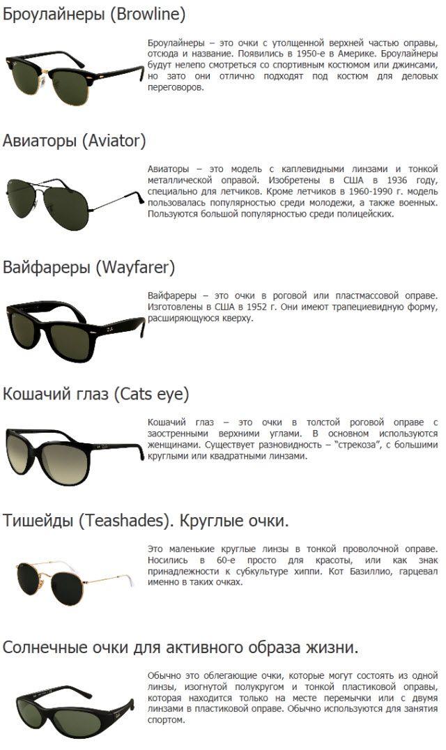 солнечные очки на овальное лицо - Поиск в Google