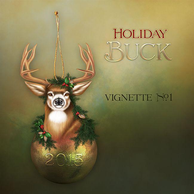 "Jaguarwoman's ""Holiday Buck Vignette #1"""
