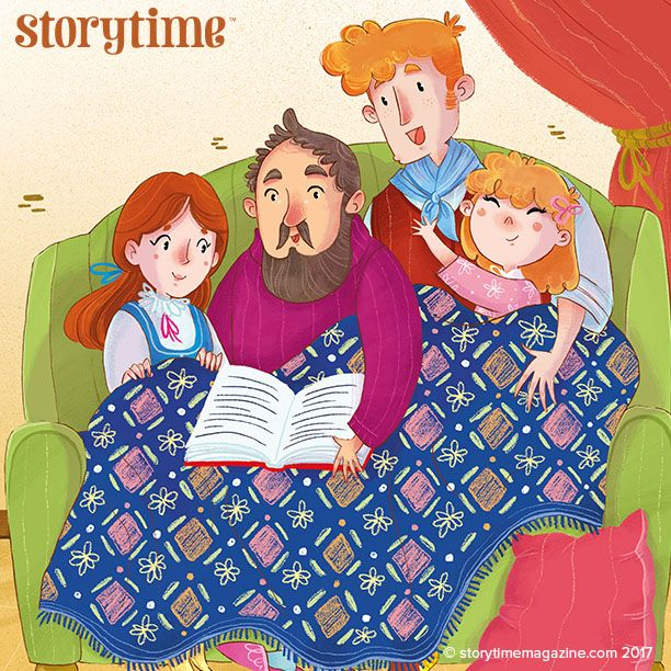 Read a sweet Irish folk tale about family love in Storytime Issue 33, illustrated by @rbattiloro ~ STORYTIMEMAGAZINE.COM