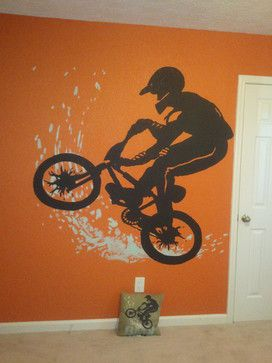 Teen Boys Room Bmx Design Ideas, Pictures, Remodel, and Decor - page 37