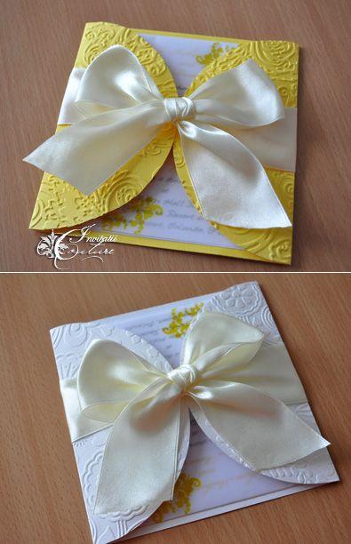 Dragonfly Wedding Invitations (Invitatii de nunta cu libelule)