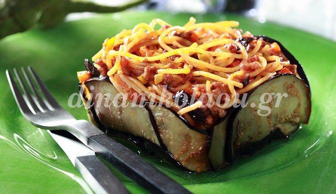 Σπαγγέτι «σισιλιάνα» με κιμά και μελιτζάνες