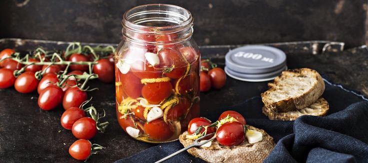 Pikapikkelöidyt tomaatit