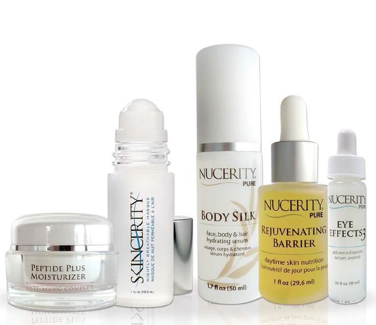 All NuCERITY products