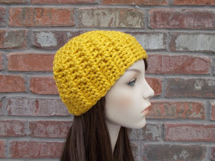 Gold Hat, Crochet Beanie, Womens Hats, Fall Hats, Fall Colors, Beanies for Women, Back to School, Teenager Gifts, Fall Fashion, Winter Hat by foreverandrea on Etsy