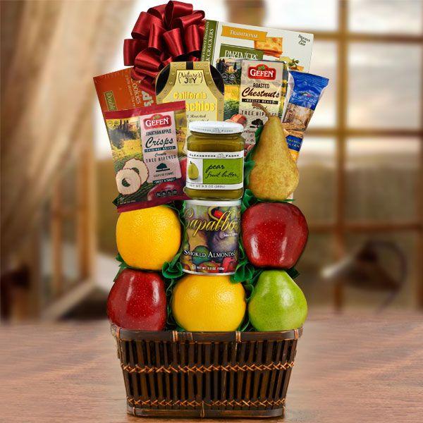 Thoughts & Prayers Kosher Shiva Fruit Gift Basket $60.99Item # 605-KD Kosher