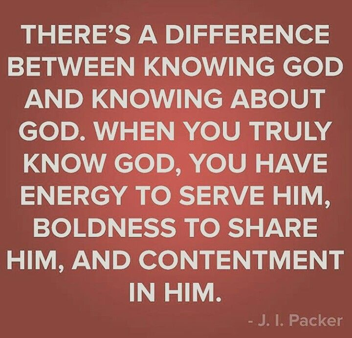 Image result for knowing God quotes