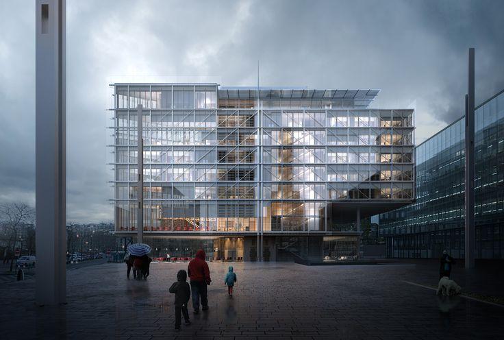 Maison des avocats / Renzo Piano Building Workshop