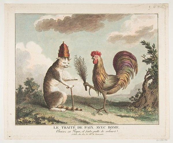 Anonymous, French, 18th century | Le Traité de Paix avec Rome (The Peace Treaty with Rome) | The Met
