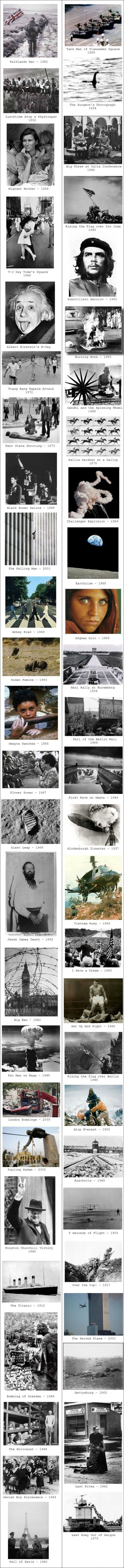 Iconic Pictures of the World. Made me tear up. There is so much power in a single image.