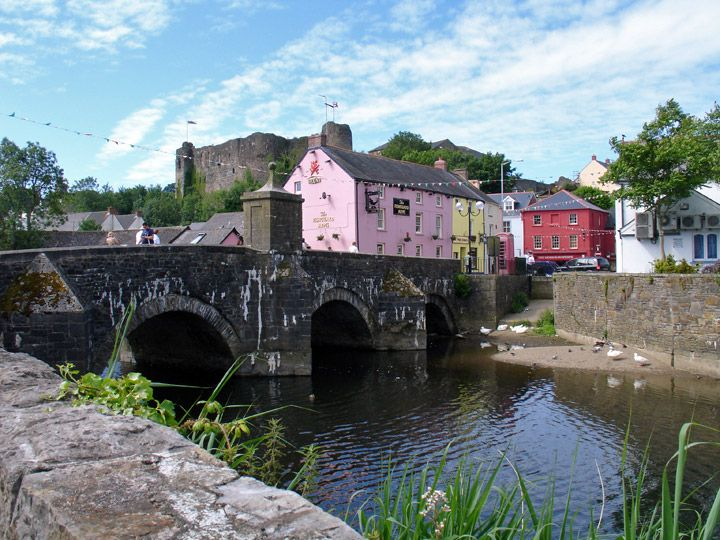 Haverfordwest, Pembrokeshire, Wales (UK) - Travel Photos by Galen R Frysinger