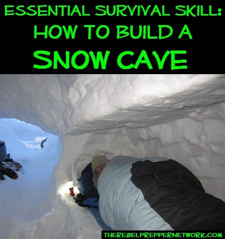 Essential Survival Skill: How to Build a Snow Cave