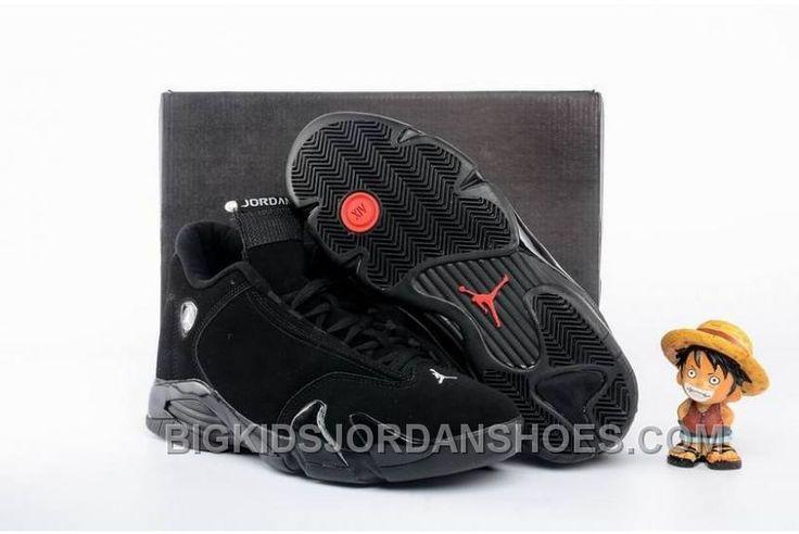 http://www.bigkidsjordanshoes.com/air-jordan-14-all-black-shoes-2016-discount.html AIR JORDAN 14 ALL BLACK SHOES 2016 DISCOUNT Only $98.00 , Free Shipping!