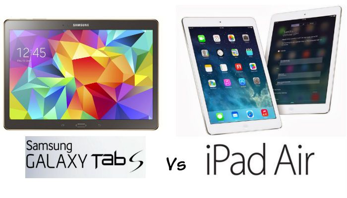 Samsung Galaxy Tab S vs Apple iPad Air: Public Opinion Advert