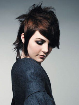 Short Brunette Hairstyles 8 Best Images About Short Hair Cuts On Pinterest  Hairstyles