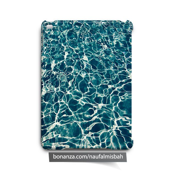Wave Water Texture iPad Air Mini 2 3 4 Case Cover - Cases, Covers & Skins