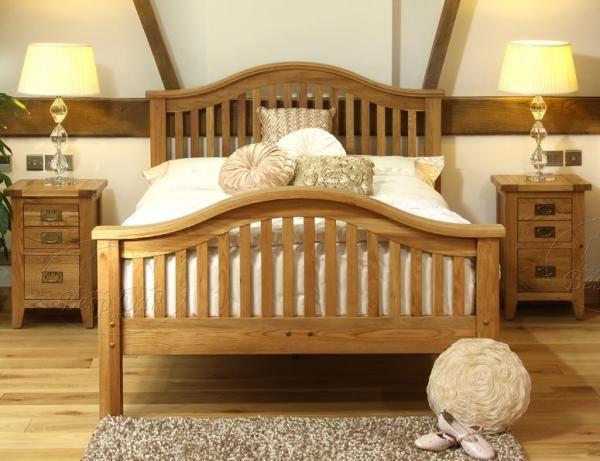 , #Bedroom_Furniture.  We love oak furniture. Like and repin!