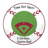 Found it at Wayfair - Child to Cherish Time Out Spot Baseball Kids Rug