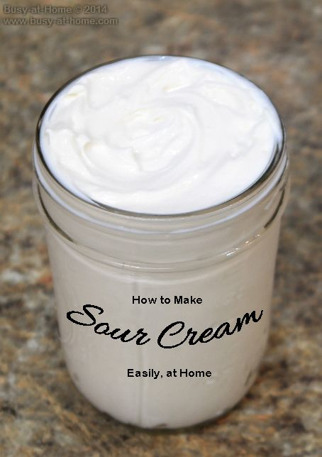 Homemade Kefir Sour Cream is not only easy to make and delicious; it will have an intense and positive impact on your family's health. Get the simple recipe at Busy-at-Home!