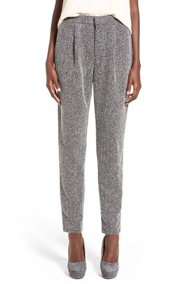Free shipping and returns on Leith Herringbone Knit Pants at Nordstrom.com. A sophisticated herringbone knit lends subtle dimension topleat-centered, menswear-inspiredtrousers that nicely pair with all your streamlined tops.