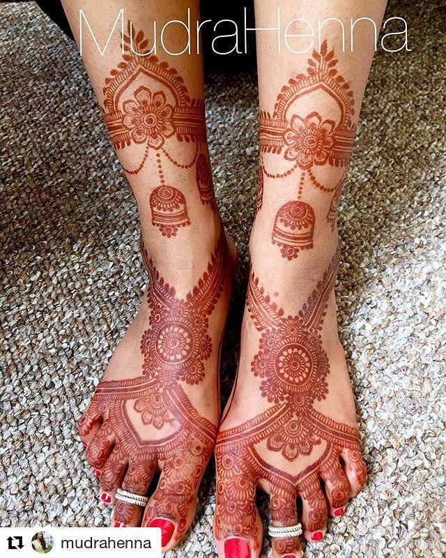 #follow@hennafamily #hennafamily #Repost @mudrahenna No filter 2 day stain pic of the design from the previous post! I did add in the part around the ankles after I took the last pic!! . . . . . . . . #henna #mehndi #mehendi #henntattoo #hennaartist #mudrahenna #indianwedding #indianbride #desi #desiwedding #desibride #shaadi #art #hennastain #flowers #tattoo #mudrahenna #mehndiartist #mehendiart #wedding #indian #indianculture #culture #hennapainting #painting #indianart #indianpainting…